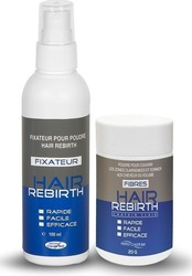 Claude Bell Hair Rebirth Fibres et Fixateur 100ml & 20gr Γκρί