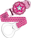 Mam Twist Clip & Cover - Sweet Pink Star