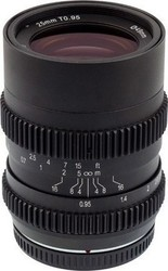 SLR Magic 25mm T0.95 Hyperprime Cine II Lens (MFT)