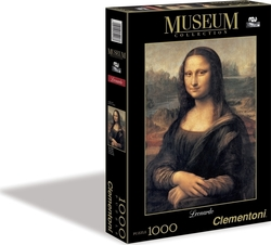 Collection Museum Leonardo Da Vinci Μόνα Λίζα 2D 1000pcs