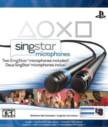 Sony SingStar Wired Microphones Pack PS3