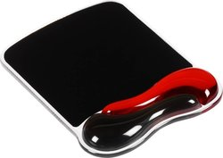 Kensington MousePad with Wrist Red Black