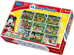 Story Puzzles: Mickey Mouse House Club (90305) Trefl