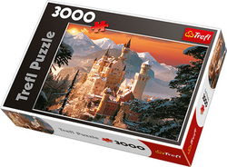 Wintry Neuschwanstein Castle, Germany 3000pcs ( 33025) Trefl