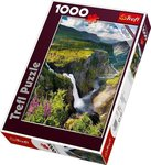 Voringsfossen Waterfall, Norway 1000pcs (10382) Trefl