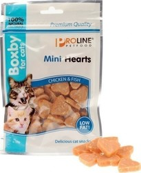 ΛΙΧΟΥΔΙΕΣ PROLINE - MINI HEARTS CHICKEN & FISH 50GR