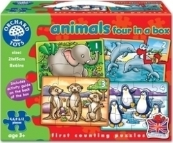 Animals Four in a Box 4, 6, 8, & 12pcs (220) Orchard