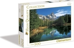 High Quality Collection: Blue Lake, Cervino 500pcs (30360) Clementoni