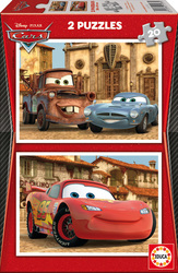 Disney: Cars 2 2x20pcs (14938) Educa