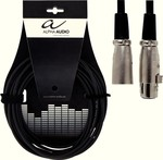 Alpha Audio Cable XLR male - XLR female 3m (190.040)