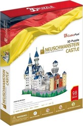Neuschwanstein Castle 98pcs (MC062h) Cubic Fun