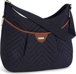 Mamas & Papas Ellis Shoulder Bag - Navy Quilt
