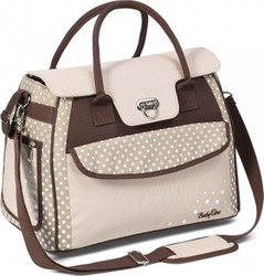 Babyono Style Nappy Bag Beige/Brown