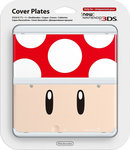 Nintendo Cover Plate 007 Red Toad New 3DS