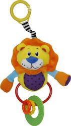 Lorelli Bertoni Plush Rattle Lion