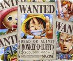 ABYstyle MousePad One Piece Wanted Pirates