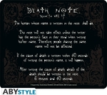 ABYstyle MousePad Death Note Rules