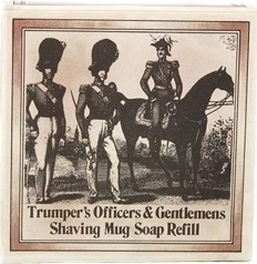 Geo F Trumper Officer And Gentleman Shaving Soap Refill 50gr