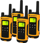 Motorola Walkie Talkie TLKR T80 Extreme Quad Pack