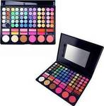 Cosmeticbay 78 Colors 3in1 Professional 60 Eyeshadow, 12 Lipstick & 6 Blusher Makeup