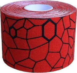 Thera-Band Kinesiology Tape 937 Hot Red/Black