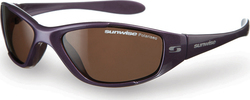 Sunwise Marine Purple Polarized Junior