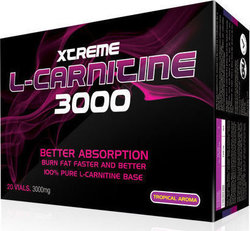 XCore Xtreme L-Carnitine 3000mg x 20 φιαλίδια Tropical