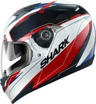 Shark S700s Pinlock Lab White Black Red