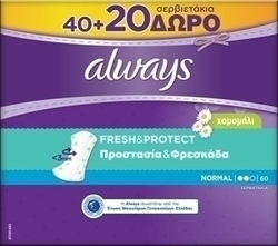 Always Normal Chamomile 40 + 20τμχ