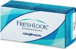 Freshlook Dimensions Μηνιαίοι 2pack