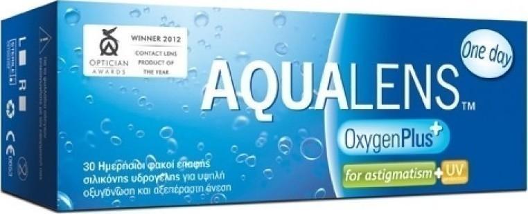 Προσθήκη στα αγαπημένα menu Meyers Aqualens Oxygen Plus One Day for  Astigmatism Ημερήσιοι 30pack 7a1a2f10047