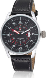 Naviforce Sport 9044 Black/Silver/Red