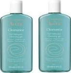 Avene Cleanance Cleansing Gel for Oily/Blemish-Prone Skin 2x200ml