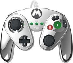 PDP Metal Mario 30th Anniversary Controller Wii U