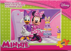 Disney Minnie με Ζωγραφική 100pcs (MIN-XP01) King Puzzles