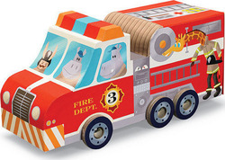 Fire Truck Play Set Puzzle Crocodile Creek