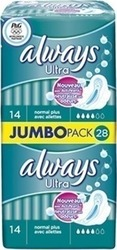Always Ultra Normal Plus JumboPack 28τμχ