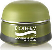 Biotherm Age Fitness Nuit Power 2 Cream Dry Skin 50ml