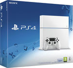Sony PlayStation 4 Glacier White C Chassis 500GB