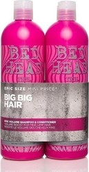 Tigi Bed Head Epic Volume Duo Shampoo 750ml & Conditioner 750ml