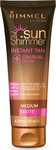 Rimmel Sun Shimmer Instant Tan Gradual Glow Medium 125ml
