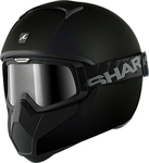 Shark Vancore Blank Matt Black