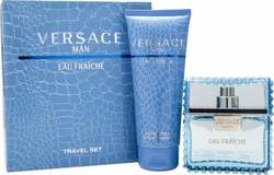 Versace Eau Fraiche Man Eau de Toilette 30ml & Shower Gel 50ml