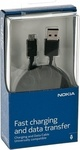 Nokia USB 2.0 to micro USB Cable Black (CA-190CD) (Retail)