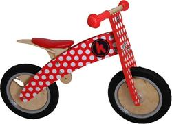 Kiddimoto Kurve Red Dotty