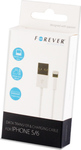 Forever USB to Lightning Cable White 1m (0012102)