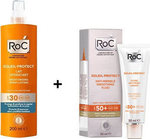 Roc Soleil-protect Anti-wrinkle Smoothing Fluid SPF50 50ml & Moisturising Spray Lotion SPF30 200ml