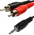 OEM Cable 3.5mm male - 2x RCA male 1.5m (30183A)