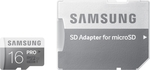Samsung Pro microSDHC 16GB U3 with Adapter