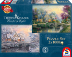 Thomas Kinkade: Winter in Lamplight Manour 1000pcs (59468) Schmidt